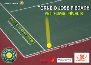 Torneio José Piedade – Torneio de Veteranos +35/45 Nível B