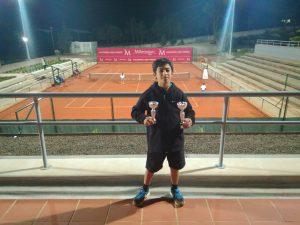 Excelente prestação de Tiago Valentim no Torneio de Natal no C.T. Estoril
