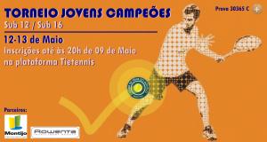 Torneio Jovens Campeões – 12 e 13 de Maio