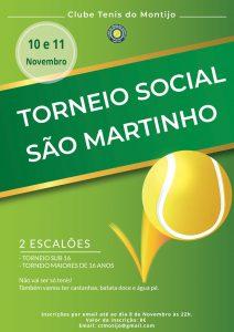 Read more about the article Torneio Social São Martinho 10 e 11 de Novembro