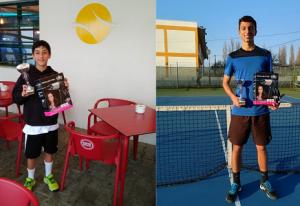 Tiago Valentim (Sub 14) e Tiago Oliveira (Sub 18) vencem Torneio José Piedade