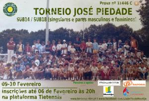 Torneio José Piedade – 09 e 10 de Fevereiro