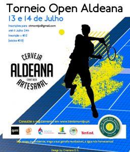 Torneio Social Open Aldeana – Quadro e Ordem de Jogos Dia 2