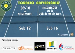 Read more about the article Torneio Aniversário – 09 e 10 de Novembro