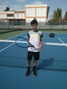 Tiago Valentim, campeão regional de Sub-14