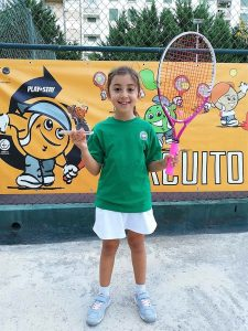 Alice Oliveira em 2º lugar no Smashtour em Setúbal