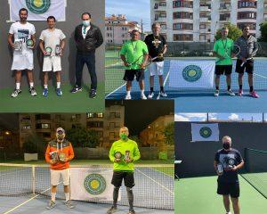 Read more about the article Torneio Montijo – Torneio Oficial FPT  Veteranos, nos escalões de +35, +45 e + 55, nível C