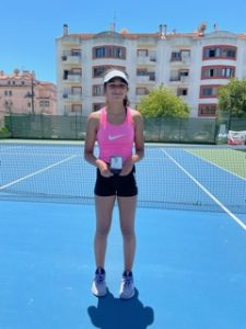 Read more about the article Joana Cunha é Vice Campeã Regional Sub 14