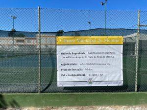 Read more about the article Obra de substituição dos telhados